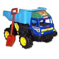 """Машинка """"Даф"""" с лопаткой и граблями 08-803 Kinderway"""