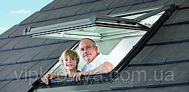 ROTO Designo R7 - окна с поднятой осью