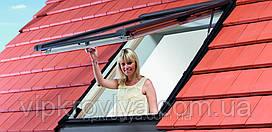 ROTO Designo R8 - окна с поднятой осью