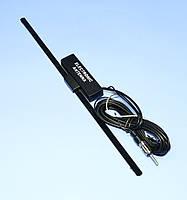 Антенна авто FM внутренняя SUNKER W1 с усилителем  ANT0201