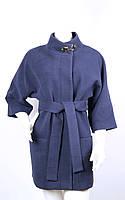 Пальто кашемировое KLAUDIYA №46-7 темно-синий, фото 1