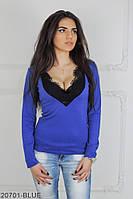 Женская блузка Подіум Bonita 20701-BLUE XS Синий
