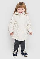 Детская куртка для девочки 3 в 1 Инна Размеры 80-122 Молочный цвет