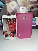 Чехол силиконовый накладка LG L7 ii P715
