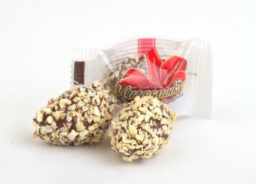 """Конфета """"Миндалинка"""" с крем-брюле в глазуре 1,7кг. ТМ Шоколадно, фото 1"""