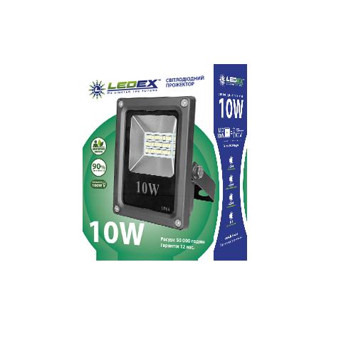 Светодиодный прожектор 10W LEDEX SMD Standard