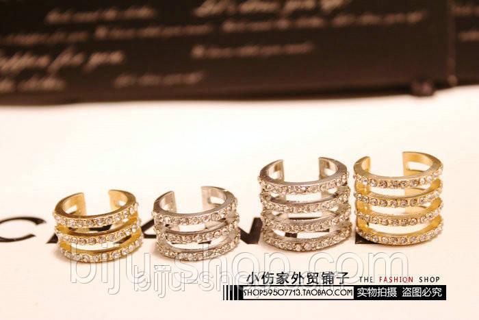 Бандажные кольца Repossi  (4в1), 1шт.