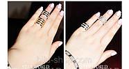 Бандажные кольца Repossi  (4в1), 1шт., фото 2