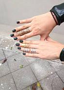 Бандажные кольца Repossi  (4в1), 1шт., фото 3