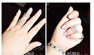 Бандажные кольца Repossi  (4в1), 1шт., фото 5