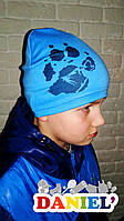Детские шапки. Французский трикотаж.