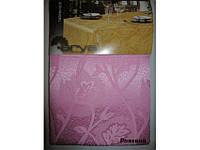 Скатерть Arya 160х220 Adelfa розовый