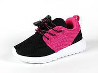 Детская текстильная обувь, сеточка р.28 Bona:AT-B12малина+черный