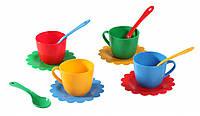 Игровой набор детской посуды Ромашка на 4 персоны