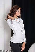 Женская блузка Подіум Gabriela 20480-WHITE XS Белый