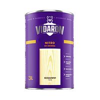 Грунтовка для древесины Vidaron Nitro 3 л