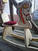 """Детская кресла-качалка """"Лошадка"""""""