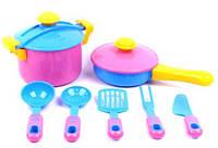 Игровой набор детской посуды Ева 9 элементов