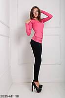 Кофти жіночі Подіум Жіноча кофта Подіум Nika 20354-PINK XS Рожевий