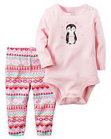 Комплект для девочки Пингвинёнок