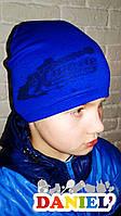 Недорогие детские шапки. Французский трикотаж.