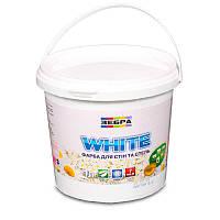 Краска интерьерная ЗЕБРА White (водоэмульсионная) (1 л)