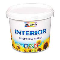 Краска интерьерная ЗЕБРА Interior (водоэмульсионная) (2,5 л)