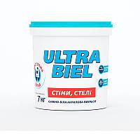 Краска интерьерная акриловая СНЕЖКА Ultra Biel (водоэмульсионная) (7 кг)