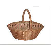Плетеная корзина для подарков круглая, модель: 290