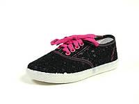 Детская спортивная обувь кеды р.28-37 B.B.G:B-802 Черный-Малиновый