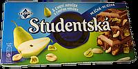 Шоколад молочный Orion Studentska Pecet с грушей 180г (Чехия)