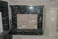 Портал камина из мрамора