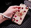 """MEIZU MX4 оригинальный чехол накладка бампер со стразами камнями  для телефона """"ASTI"""" , фото 5"""