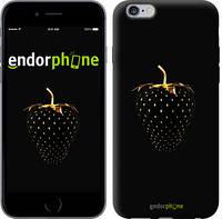 """Чехол на iPhone 6 Plus Черная клубника """"3585c-48"""""""
