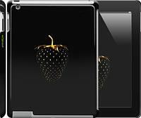 """Чехол на iPad 2/3/4 Черная клубника """"3585c-25"""""""