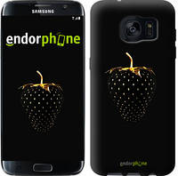 "Чехол на Samsung Galaxy S7 Edge G935F Черная клубника ""3585c-257"""