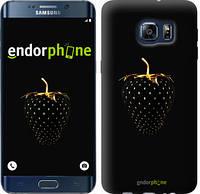 "Чехол на Samsung Galaxy S6 Edge Plus G928 Черная клубника ""3585u-189"""