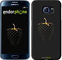 """Чехол на Samsung Galaxy S6 G920 Черная клубника """"3585c-80"""""""