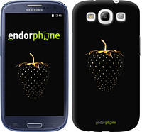 "Чехол на Samsung Galaxy S3 i9300 Черная клубника ""3585c-11"""