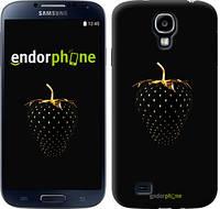 "Чехол на Samsung Galaxy S4 i9500 Черная клубника ""3585c-13"""