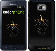 "Чехол на Samsung Galaxy S2 Plus i9105 Черная клубника ""3585c-71"""