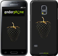 "Чехол на Samsung Galaxy S5 mini G800H Черная клубника ""3585c-44"""