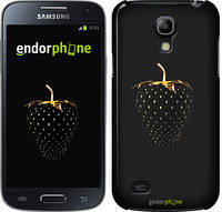 "Чехол на Samsung Galaxy S4 mini Duos GT i9192 Черная клубника ""3585c-63"""