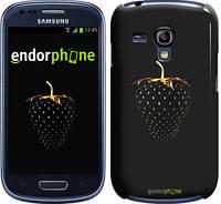 "Чехол на Samsung Galaxy S3 mini Черная клубника ""3585c-31"""