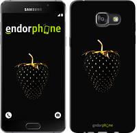 """Чехол на Samsung Galaxy A7 (2016) A710F Черная клубника """"3585u-121"""""""