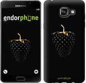 """Чехол на Samsung Galaxy A5 (2016) A510F Черная клубника """"3585c-158"""""""