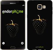 "Чехол на Samsung Galaxy A9 A9000 Черная клубника ""3585u-107"""