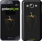 "Чехол на Samsung Galaxy E5 E500H Черная клубника ""3585c-82"""