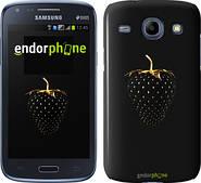 """Чехол на Samsung Galaxy Core Plus G3500 Черная клубника """"3585u-359"""""""