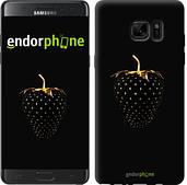 "Чехол на Samsung Galaxy Note 7 Duos N930F Черная клубника ""3585u-346"""